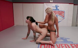 Cat fight shows how slutty these lesbians can get as the crow flies torrid