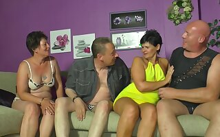 Horny swingers crazy carnal knowledge party