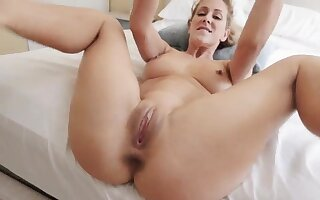 Mummy dinner Cherie Deville anent Impregnated By My