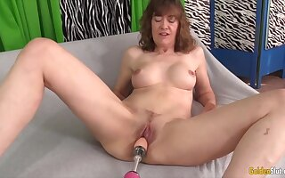 Mature Women Getting Railed by Fucking Machines Compilation 3