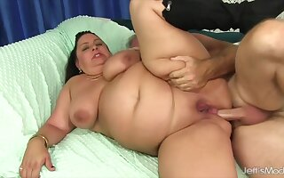 Mature Latina BBW Lacy Bangs Anal Compilation Part 1