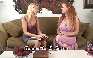 Samantha Ryan & Susan Evans in Lesbian Seductions #14, Scene #03