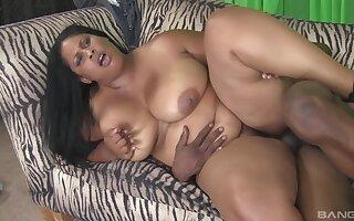 Fat black big boobs slut fucked hard