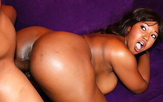Sensational Ebony Delotta Brown Destroys a BBC