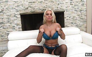 Kenzie Taylor - Buxom Blonde Milf with Big Titties